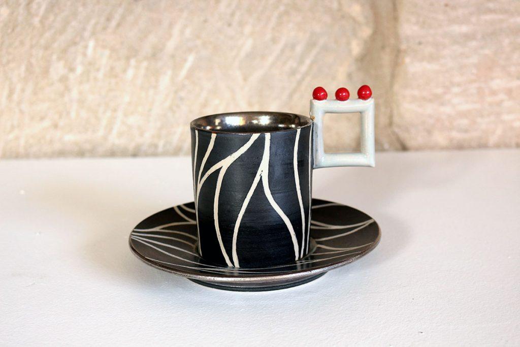 Keramik Kaffeetassen Ton Art Keramik