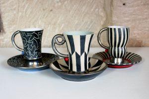 Kaffetassen Ton Art Keramik Thomas Kummer Fürth