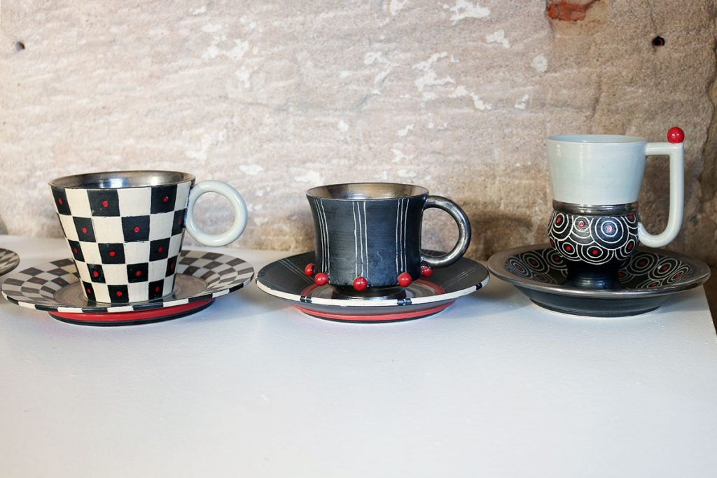 Kaffeetassen Ton Art Keramik Fürth